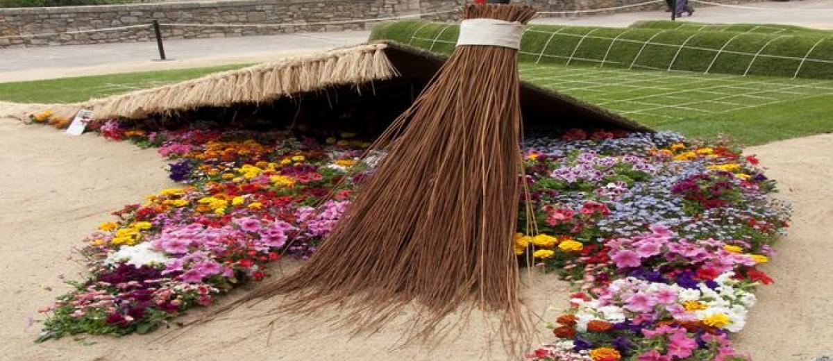 Fête des Fleurs à Gérone