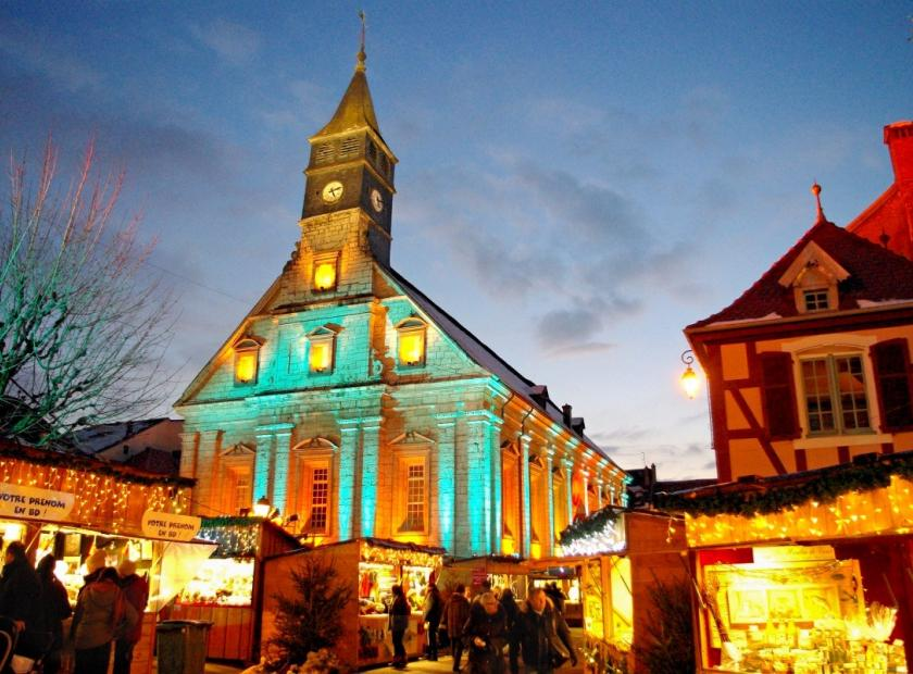 Féerie de Noël à Montbeliard